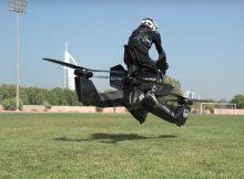 La polizia di Dubai volerà con hoverbike.